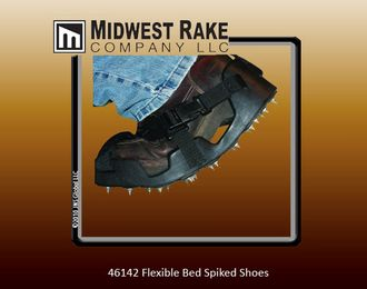 Flexible bed spiked shoes