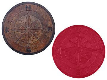 Proline Directional Compass Medallion