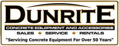 Dunrite Concrete Equipment & Accessories